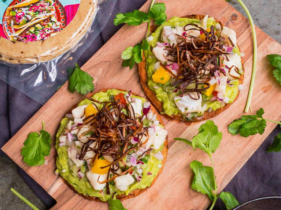 SOLPURO Mexikanische Ceviche Tostadas